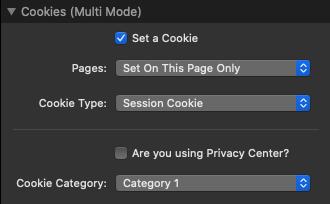 Cookies Settings
