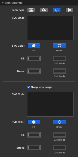 Icon Settings SVG