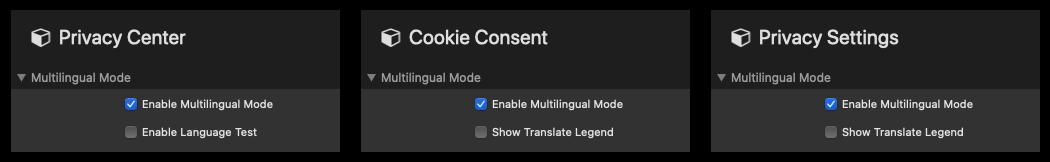 Multilingual Mode